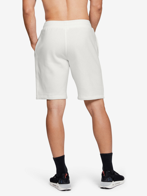 Kraťasy Under Armour RIVAL FLEECE SHORT-WHT
