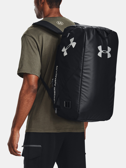 Taška Under Armour Contain Duo SM Duffle-BLK