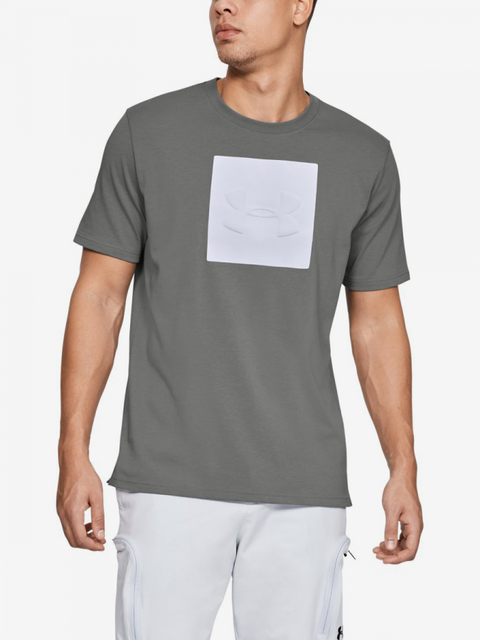 Tričko Under Armour Unstoppable Knit Tee-Gry