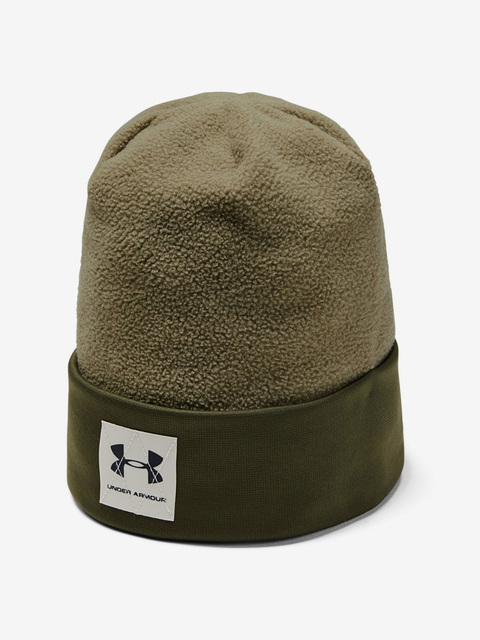 Čepice Under Armour Boy\'S Unstoppable Fleece Beanie-Grn
