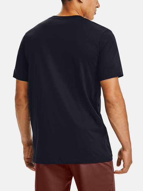 Tričko Under Armour Pocket Tee-BLK