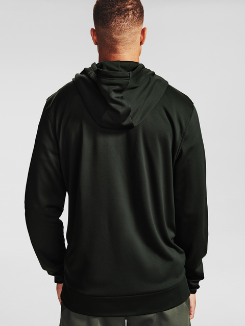 Mikina Under Armour Armour Fleece FZ Hoodie-GRN