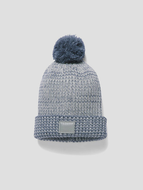 Čepice Under Armour Coldgear Girls Lurex Pom Beanie