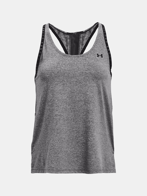 Tílko Under Armour Knockout Mesh Back Tank-GRY
