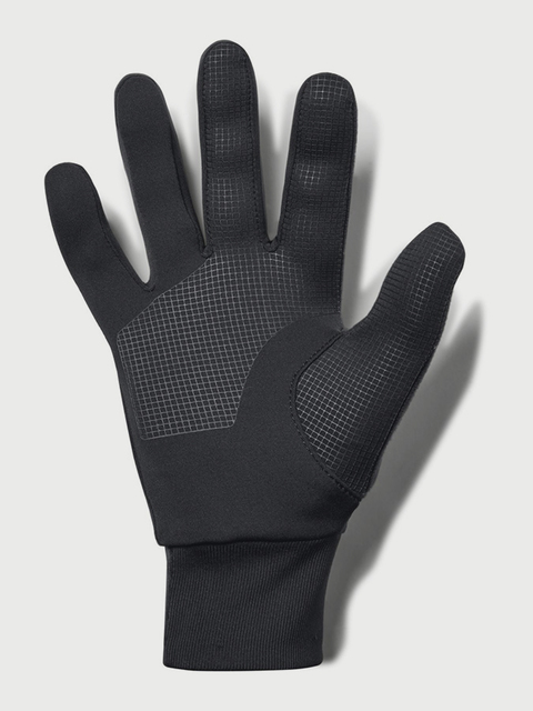 Rukavice Under Armour Mens SS CGI Run Liner Glove-BLK
