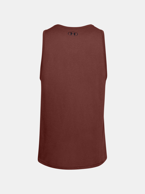 Tílko Under Armour UA SPORTSTYLE LOGO TANK-RED