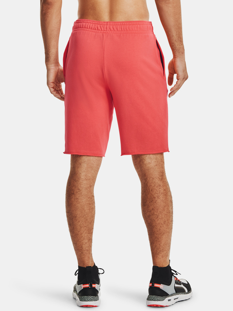 Kraťasy Under Armour RIVAL TERRY SHORT-RED