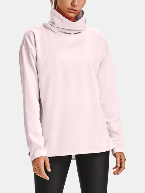 Mikina Under Armour Armour Fleece Funnel Neck-PNK