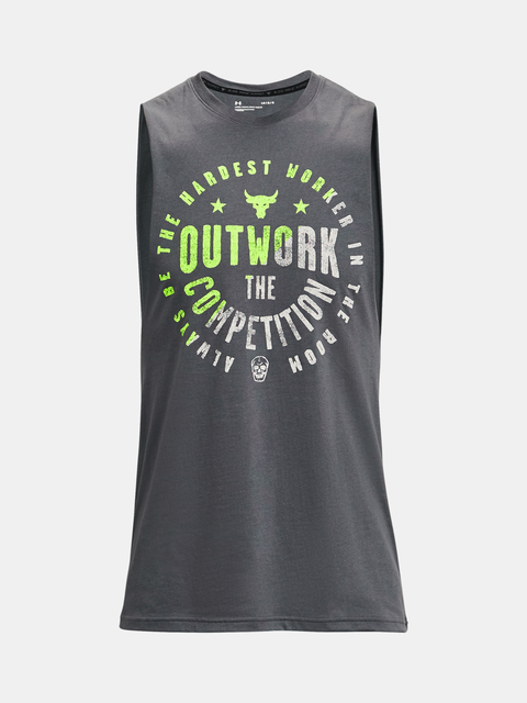 Tílko Under Armour Project Rock Outwork Tank-GRY