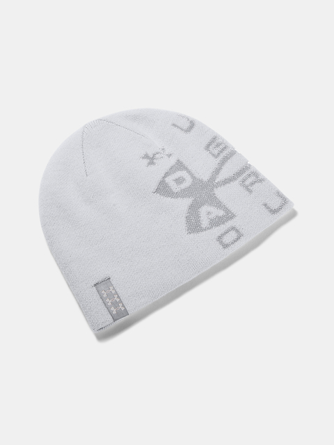 Čepice Under Armour Billboard Reversible Beanie-GRY