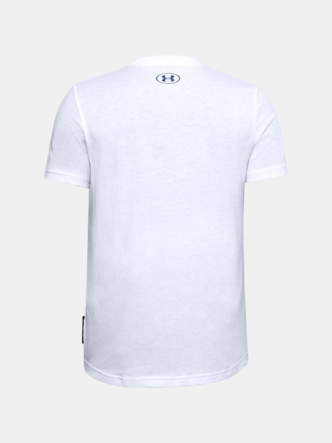 Tričko Under Armour Curry B FREEHAND EDDY TEE-WHT