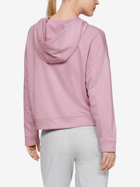 Mikina Under Armour Tech Terry Hoody-Pnk