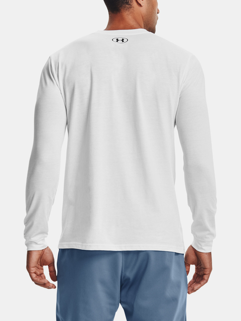 Tričko Under Armour SPORTSTYLE LOGO LS-WHT