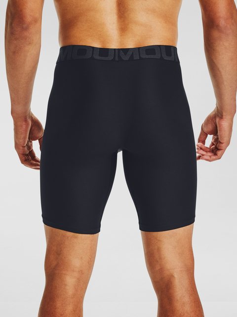 Boxerky Under Armour UA Tech 9in 2 Pack-BLK