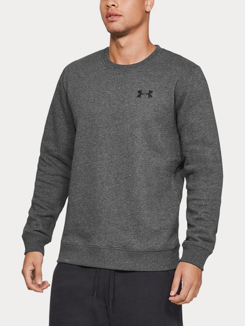 Mikina Under Armour Rival Solid Fitted Crew-GRY