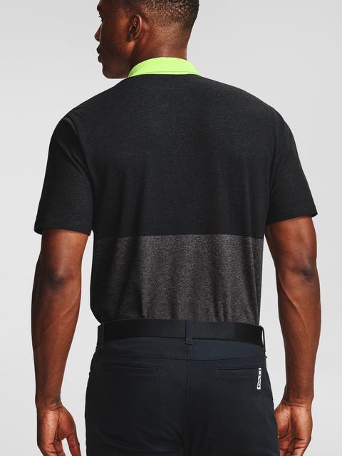 Polo tričko Under Armour UA RU Hazard Polo-BLK