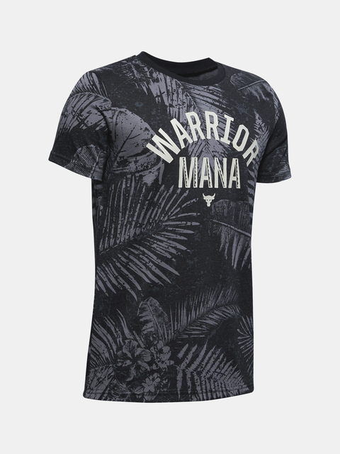 Tričko Project Rock Warrior Mana SS-BLK