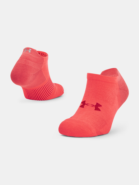 Ponožky Under Armour ArmourDry Run No Show-RED