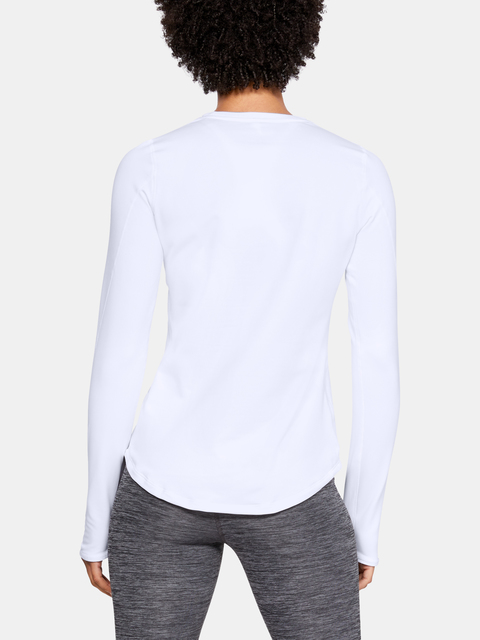 Tričko Under Armour UA CG Armour Crew-WHT