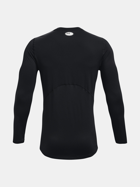 Tričko Under Armour HG Armour Fitted LS-BLK