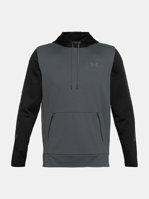 Mikina Under Armour AF Textured Hoodie-BLK