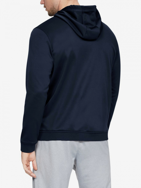 Mikina Under Armour Fleece Fz Hoodie-Nvy
