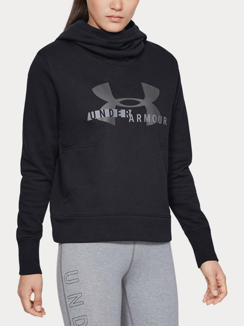 Mikina Under Armour Cotton Fleece Sportstyle Logo Hoodie