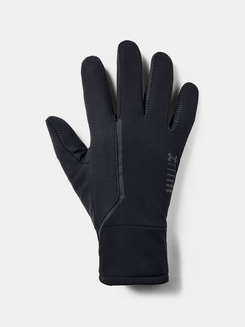 Rukavice Under Armour Men's Storm Run Glove-BLK