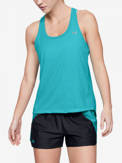 Tílko Under Armour Whisperlight Tie Back Tank-Blu