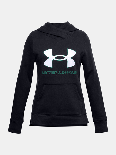 Mikina Under Armour Rival Fleece Logo Hoodie-BLK