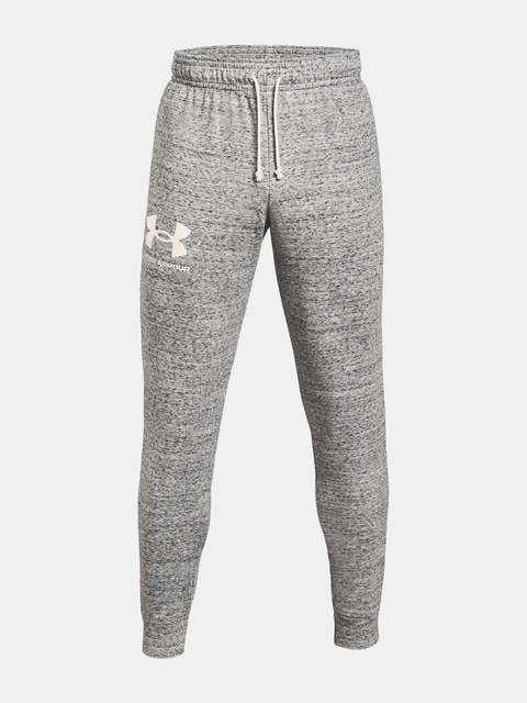 Tepláky Under Armour  RIVAL TERRY JOGGER-WHT