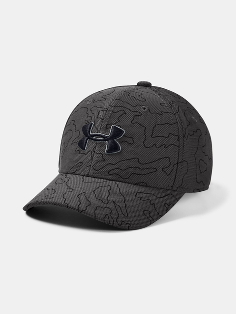 Kšiltovka Under Armour UA Boy's Printed Blitzing 3.0-GRY