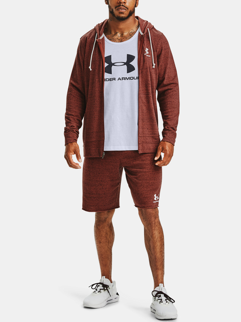 Kraťasy Under Armour SPORTSTYLE TERRY SHORT-RED