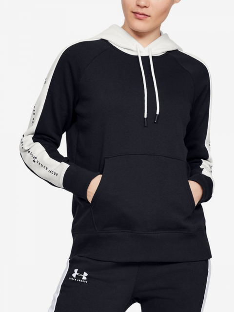 Mikina Under Armour Rival Fleece Graphic Hoodie Novelty-Blk