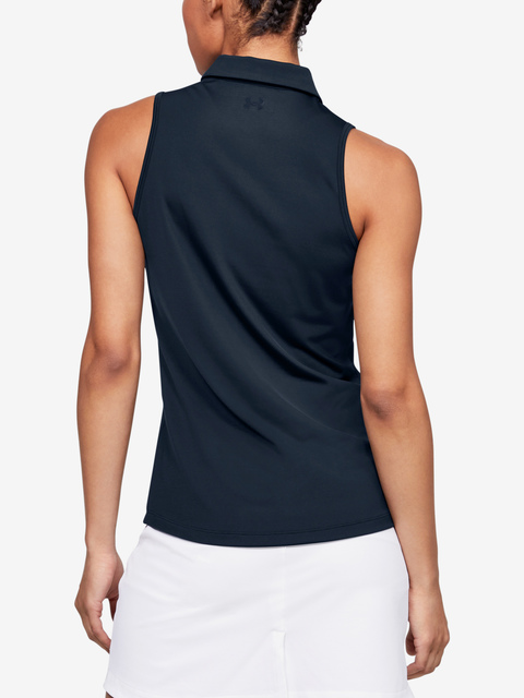 Tričko Under Armour UA Zinger Sleeveless Polo-NVY