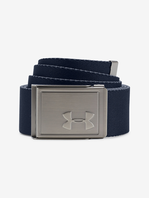 Pásek Under Armour Men's Webbing 2.0 Belt-GRY