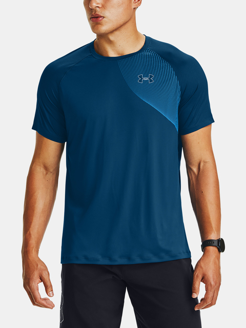 Tričko Under Armour M Qlifier ISO-CHILL Short Sleeve-BL
