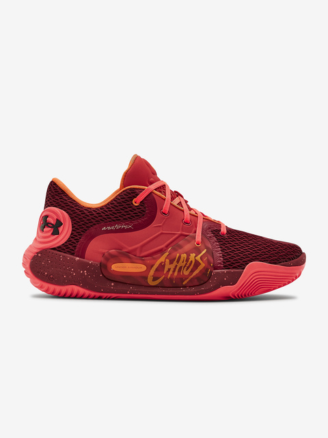 Boty Under Armour Spawn 2-RED