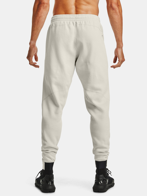 Tepláky Under Armour Charged Cotton FLC Jogger-WHT