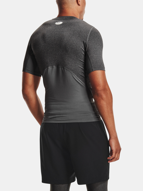 Tričko Under Armour UA HG Armour Comp SS-GRY