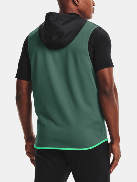 Vesta Under Armour AF STORM HOODED VEST-BLK