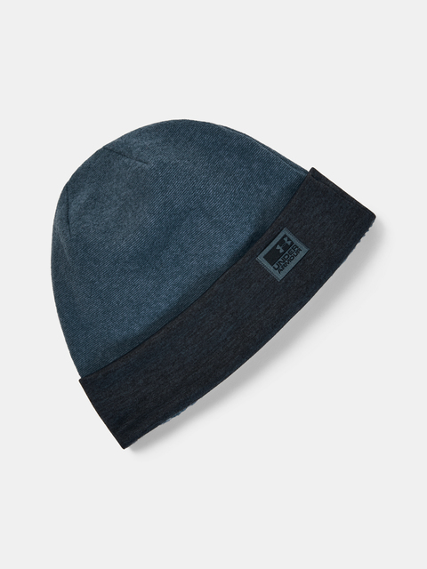 Čepice Under Armour Men's CGI Fleece Beanie -BLU