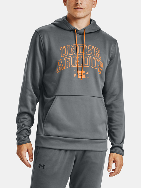 Mikina Under Armour AF Script Graphic HD-GRY