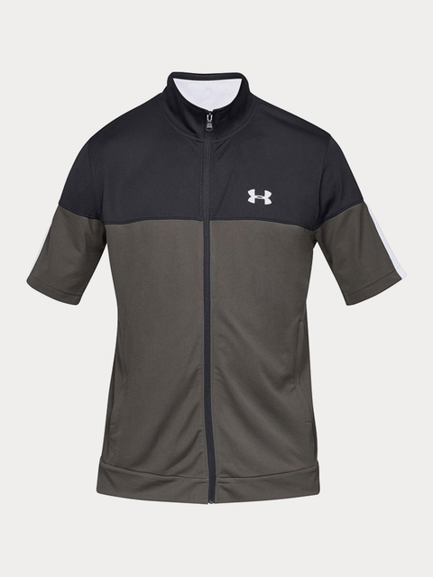 Mikina Under Armour Sportstyle Pique Ss Fz