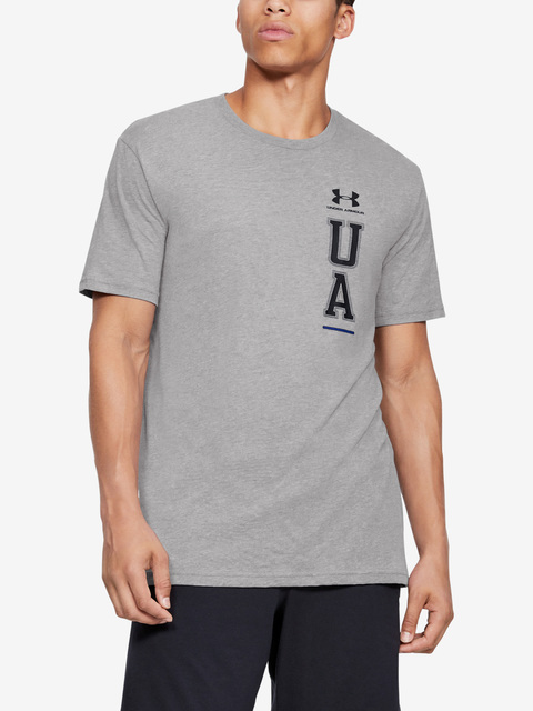 Tričko Under Armour Vertical Left Chest Logo Ss