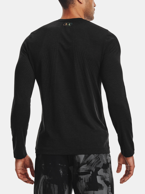 Tričko Under Armour Rush Seamless LS-BLK