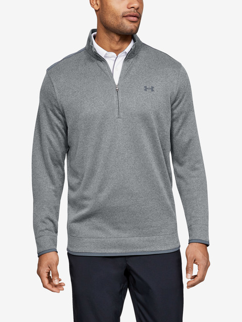 Svetr Under Armour Sweaterfleece 1/2 Zip-Gry