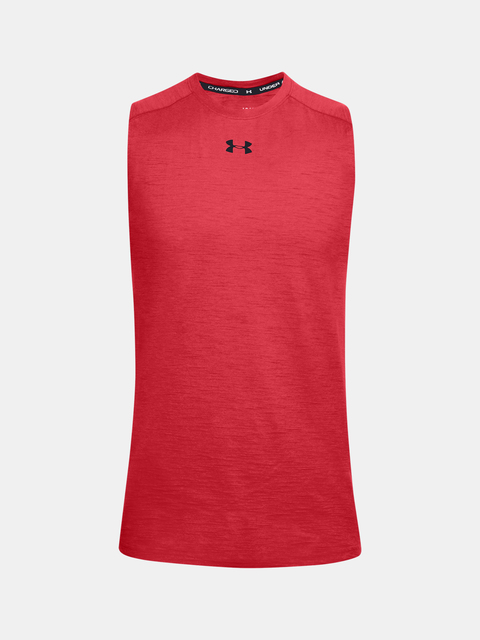 Tílko Under Armour UA Charged Cotton Tank-RED