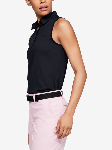 Tílko Under Armour  Zinger Sleeveless Polo-BLK
