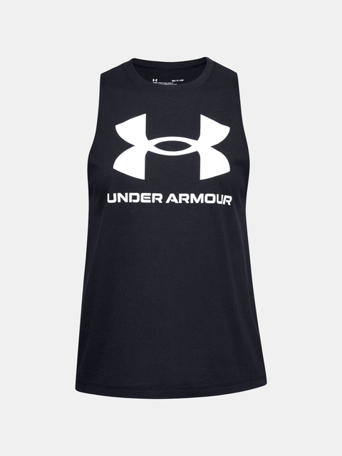 Tílko Under Armour Sportstyle Graphic Tank-BLK